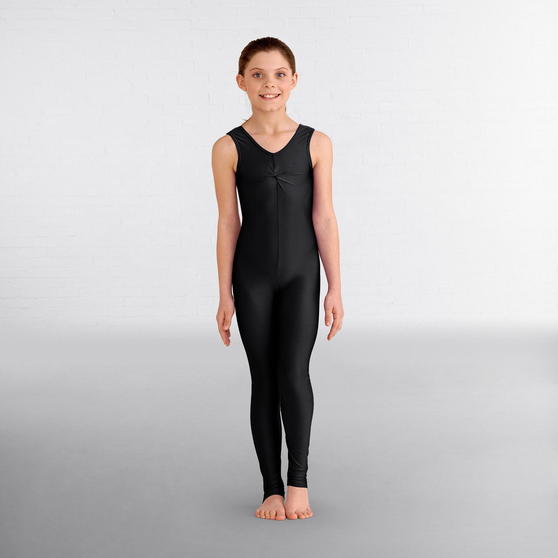 1st Position Emma Dance Catsuit (Black)