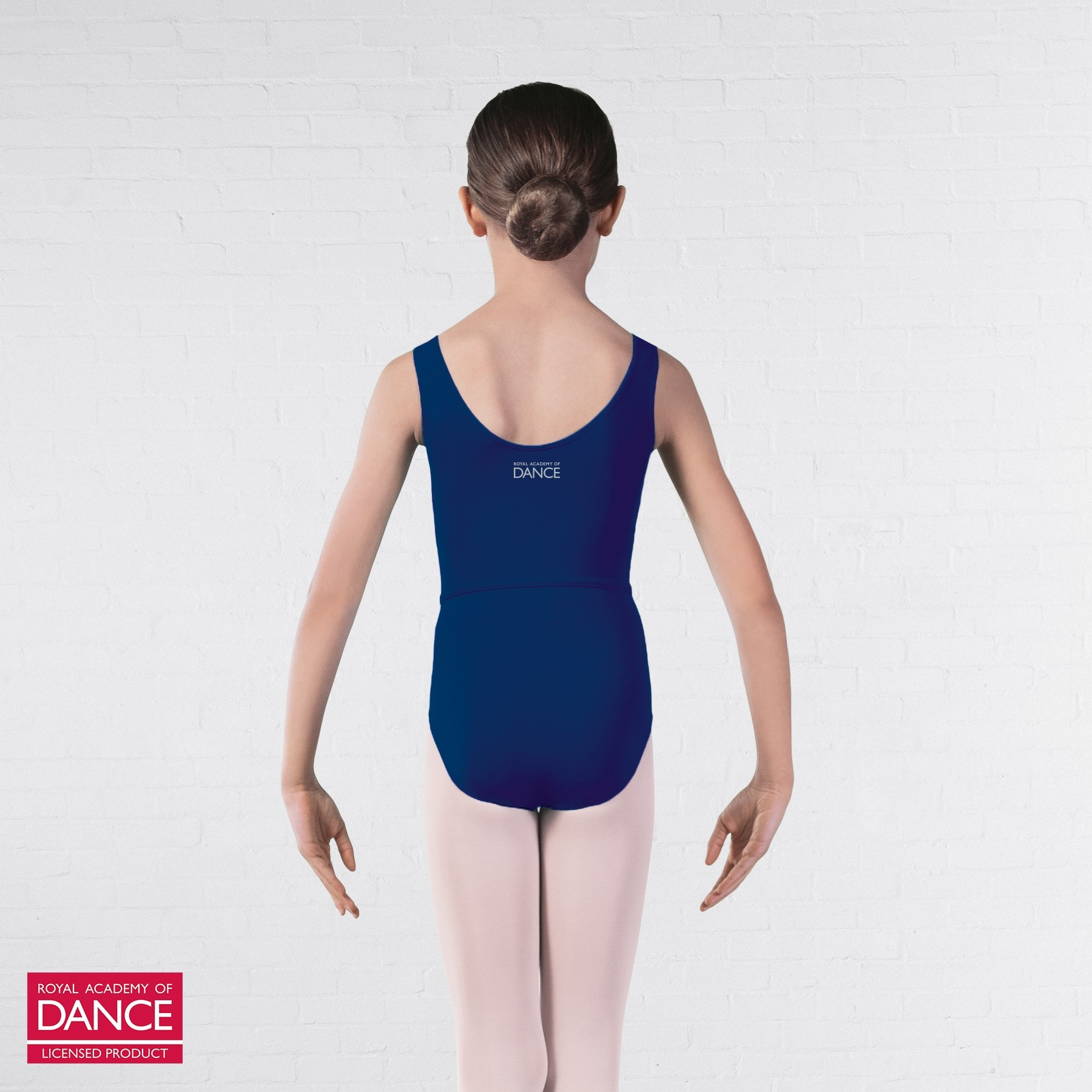 RAD Approved Megan Princess Line Sleeveless Leotard (Navy Blue)