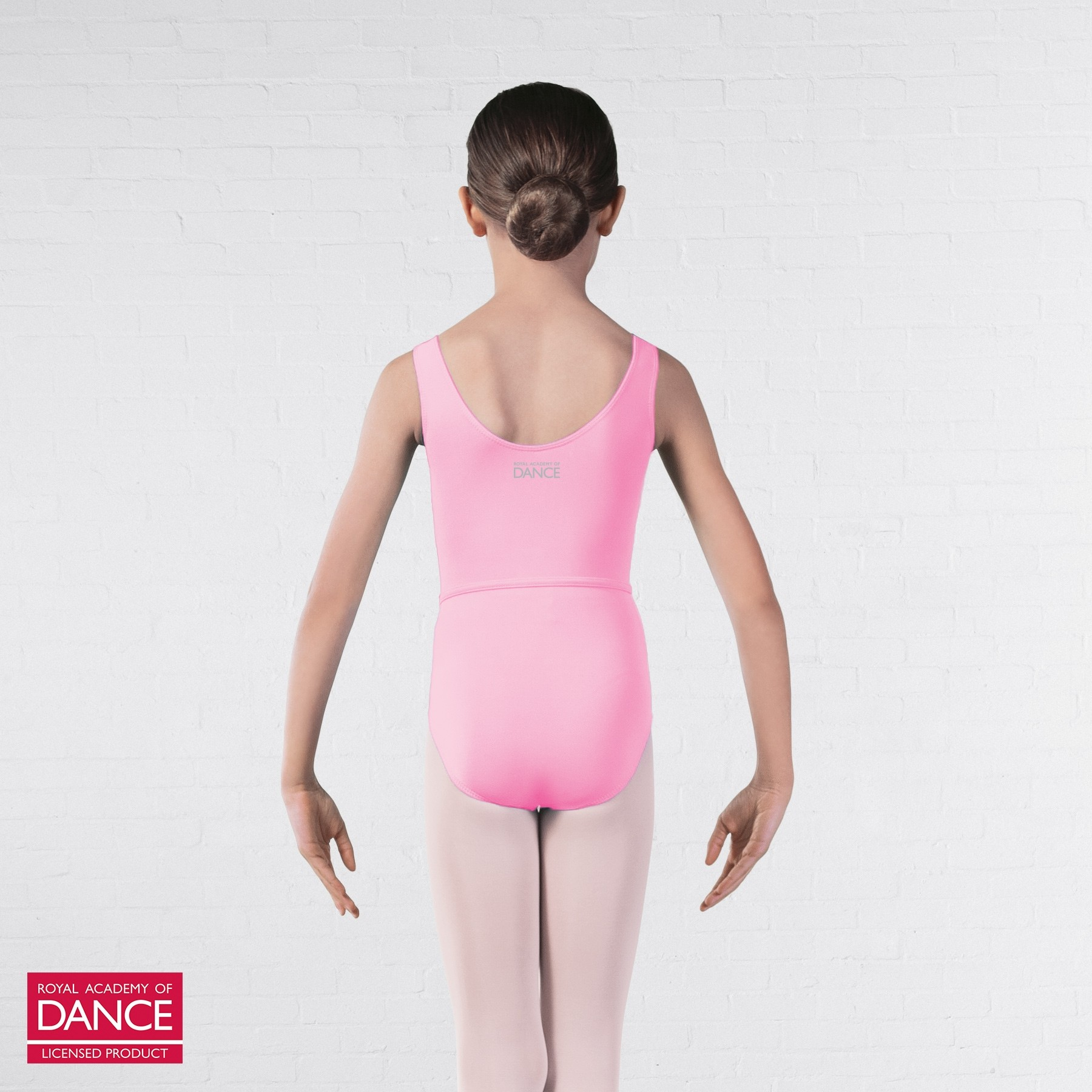 RAD Approved Megan Princess Line Sleeveless Leotard (Pink)
