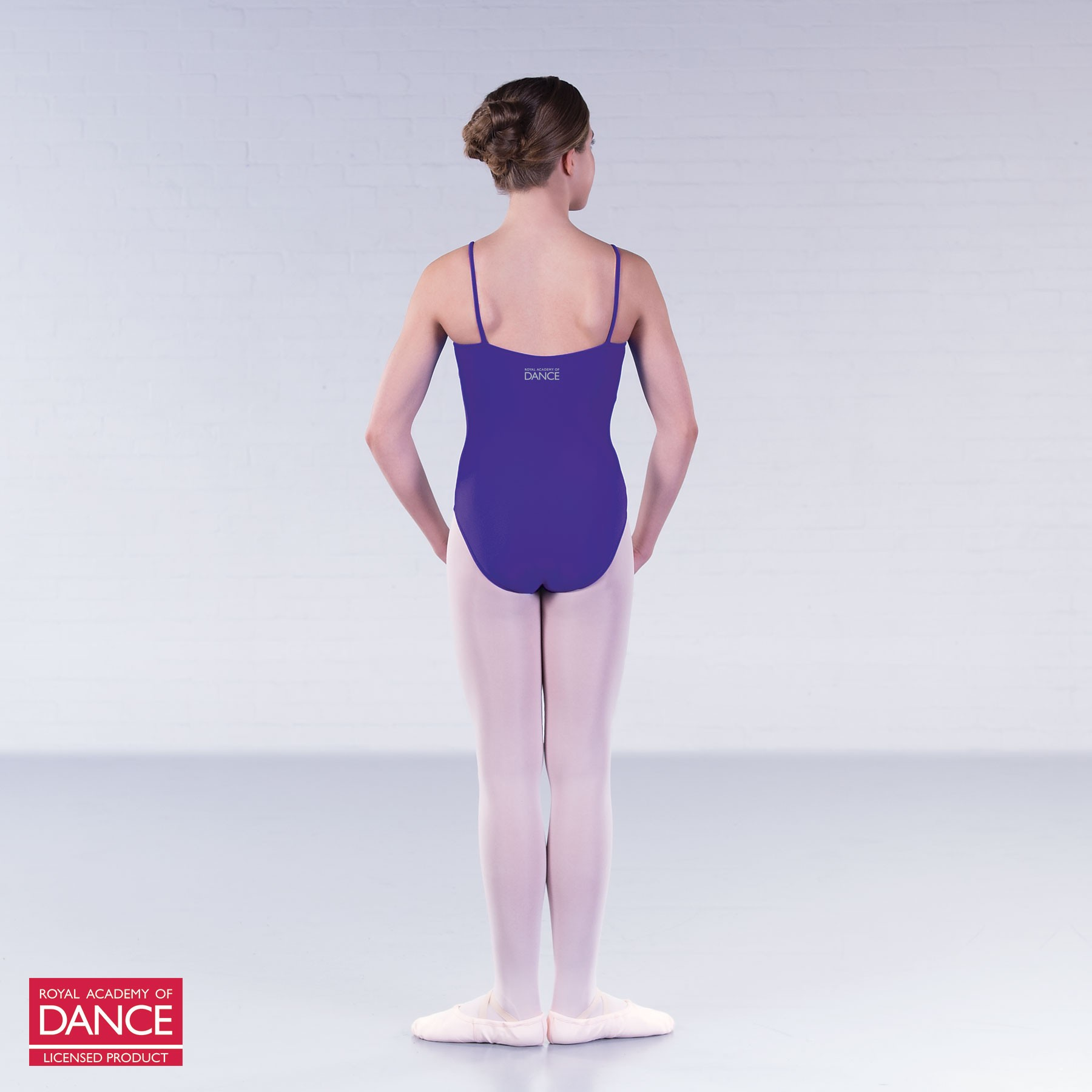 RAD Approved Grace Princess Line Camisole Pleat Front Leotard (Purple)