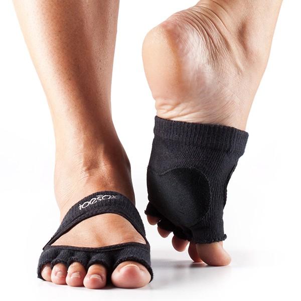 ToeSox Relevé Half Toe (Black)