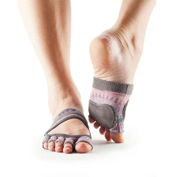 ToeSox Relevé Half Toe Multi Medium Size 5.5-8.5