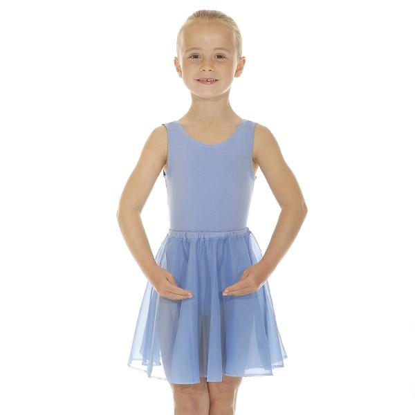 Roch Valley Circular Chiffon Skirt (Sky Blue)