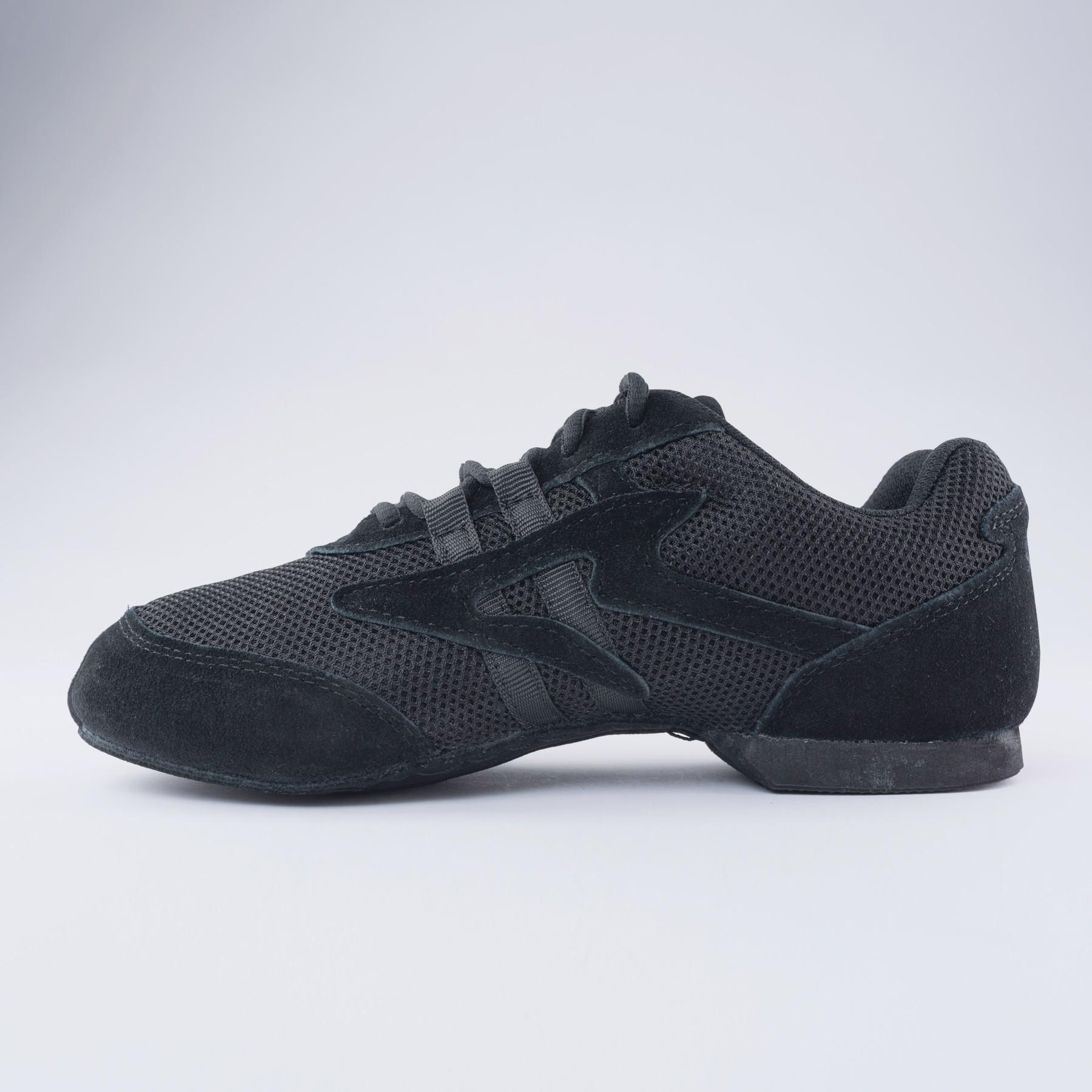 Sansha Salsette1 Jazz Shoe (Black)