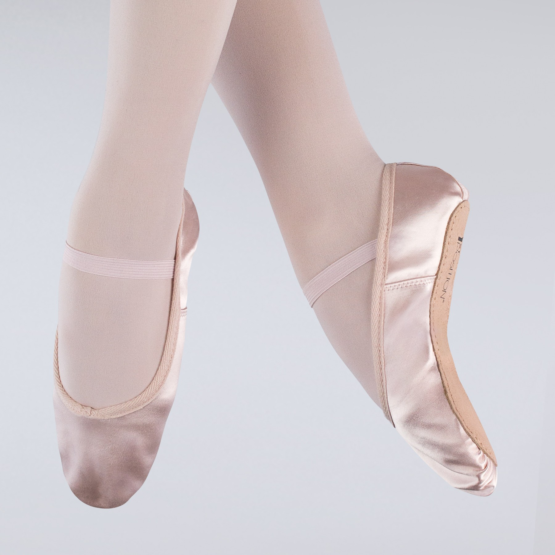 92ea3580f49b 1st Position Satin Ballet Shoes (Pink)