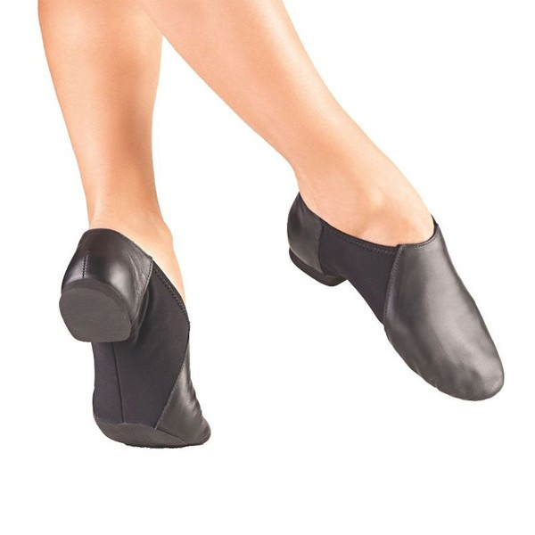 So Danca Split Sole Stretch Jazz Shoe (Black)