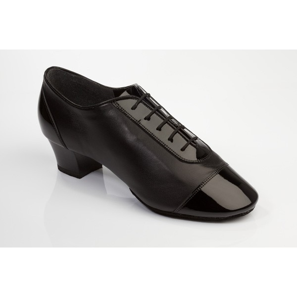 Supadance Mens Latin Patent/Leather Shoe