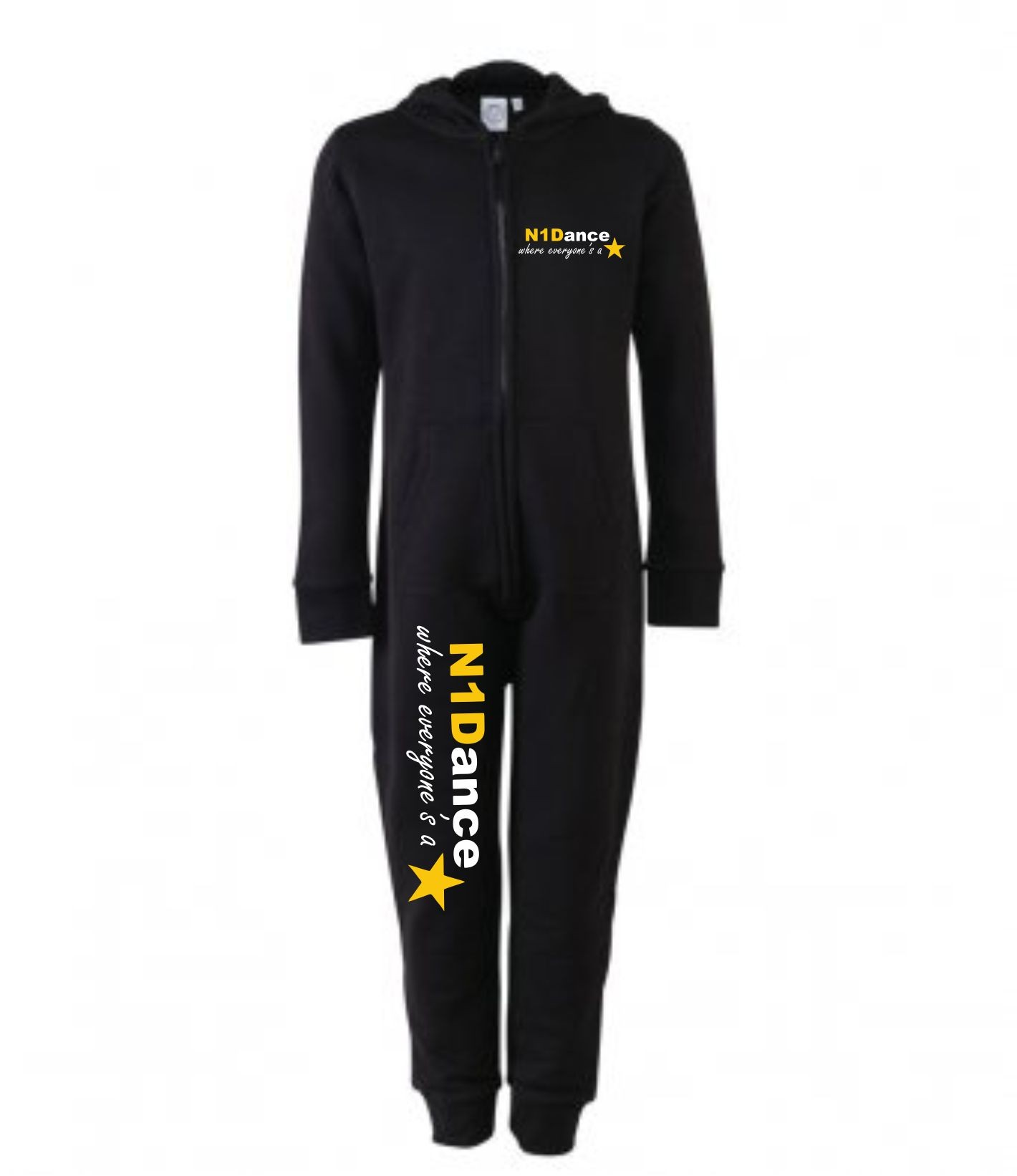 PP *#041039#* SF Minni Kids All In One (Black) with N1 Dance Logo
