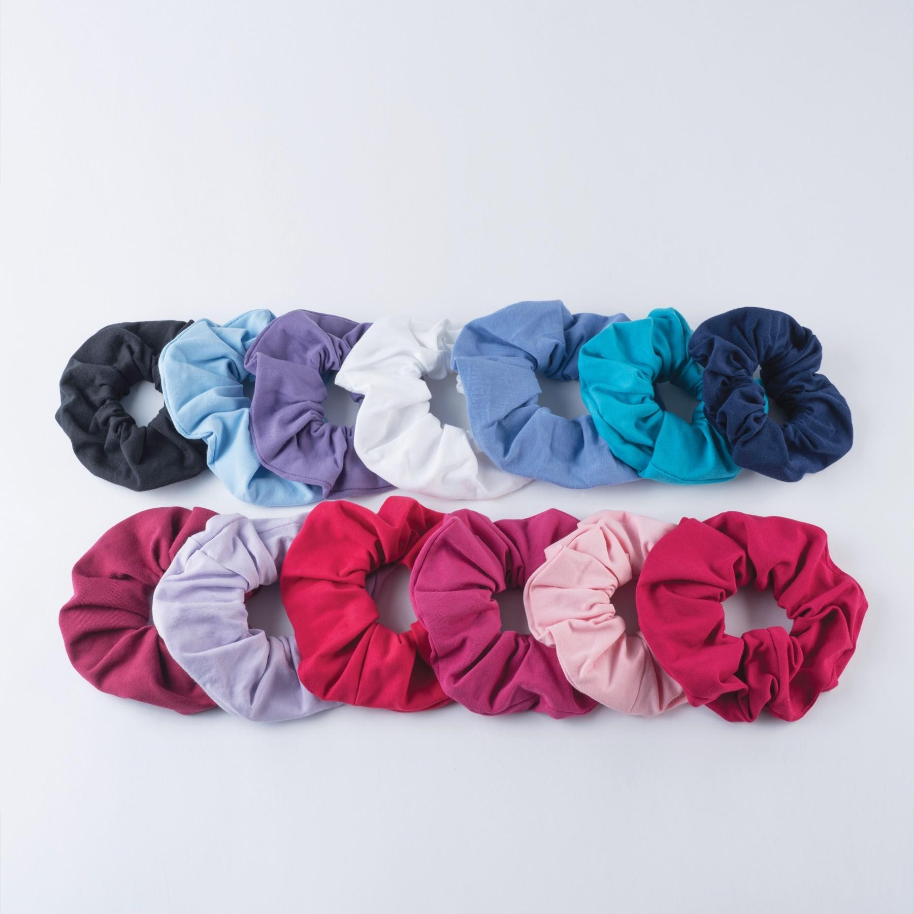 1st Position Single Scrunchie (Cotton/Elastane) Plum