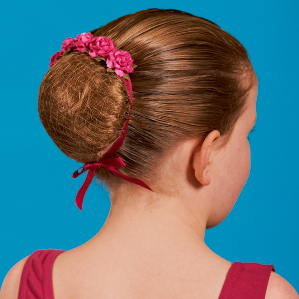 Floral Hair Blossom - Mulberry