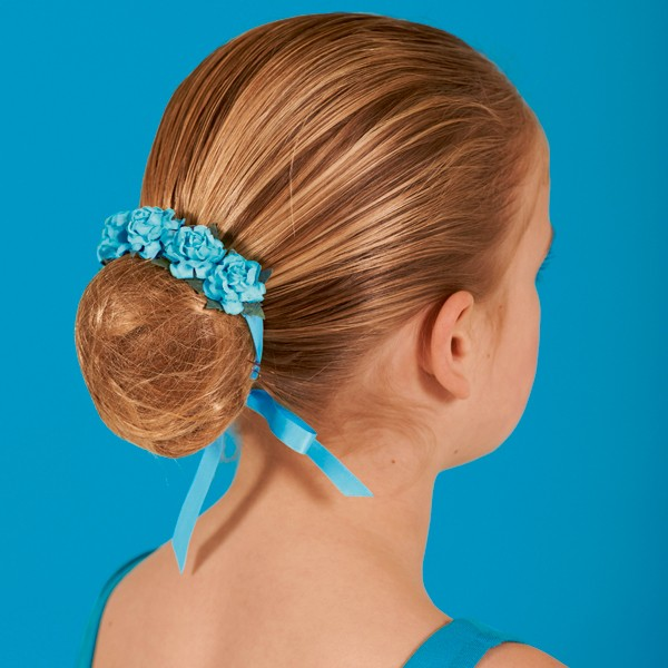 Floral Hair Blossom - Marine Blue