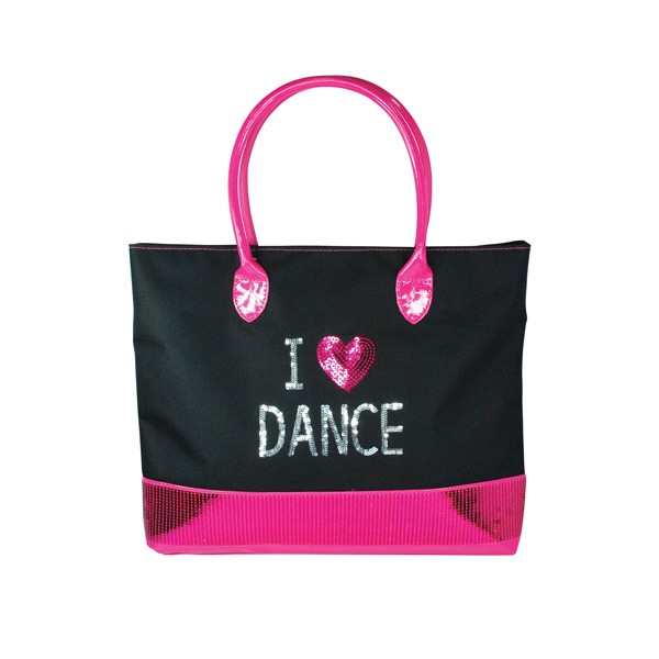 I Love Dance Carry All Bag-Black