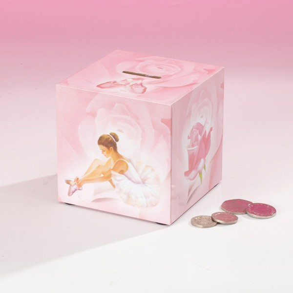 Ballerina Money Box