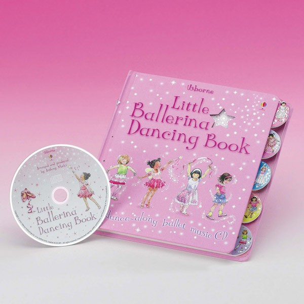 Little Ballerina Dancing Book & CD