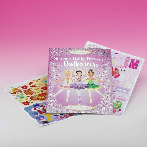 Sticker Dolly Dressing Book Ballerinas