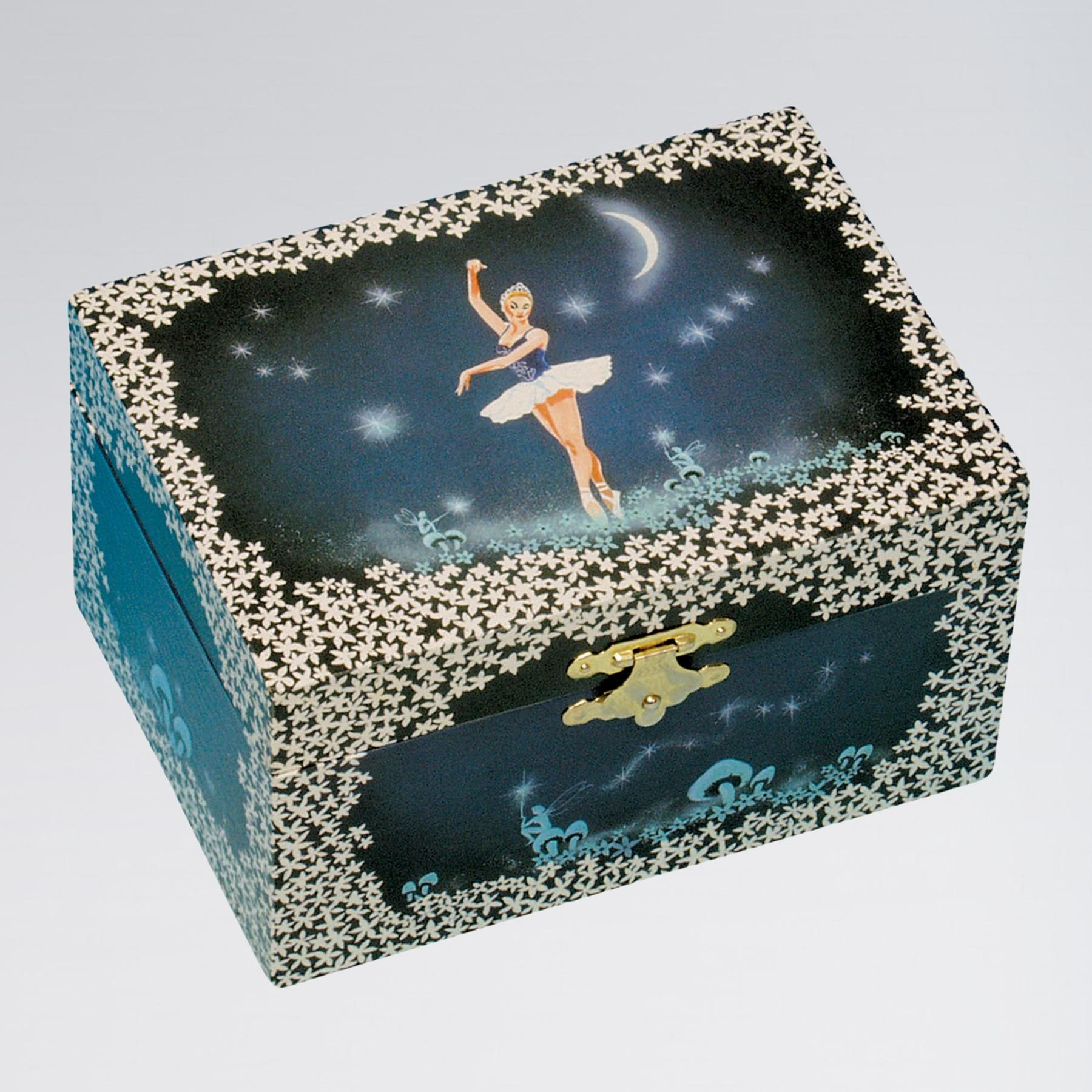 Ballerina Moon & Stars Jewellery Music Box