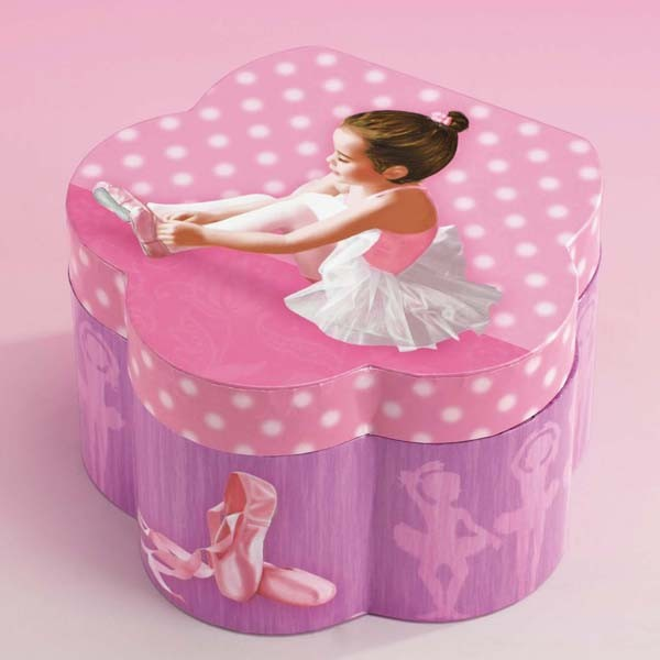 Katz Flower Shaped Jewellery Box