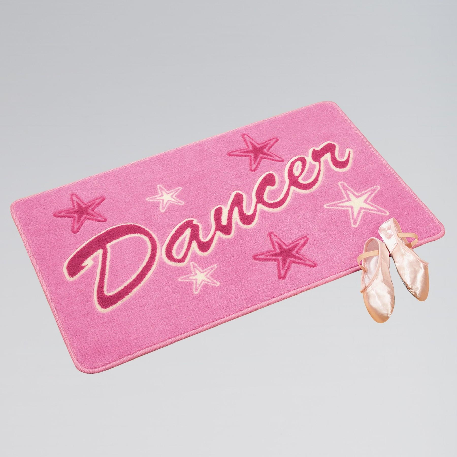 Pink Dancer Bedroom Rug