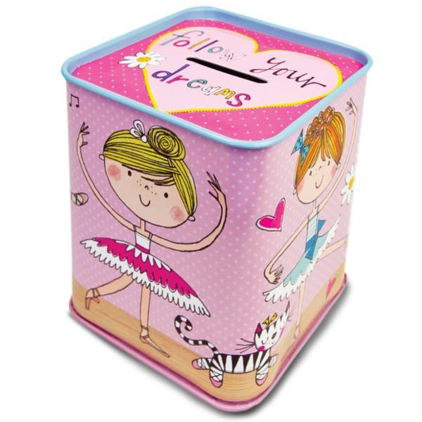 Rachel Ellen Ballerina Money Box