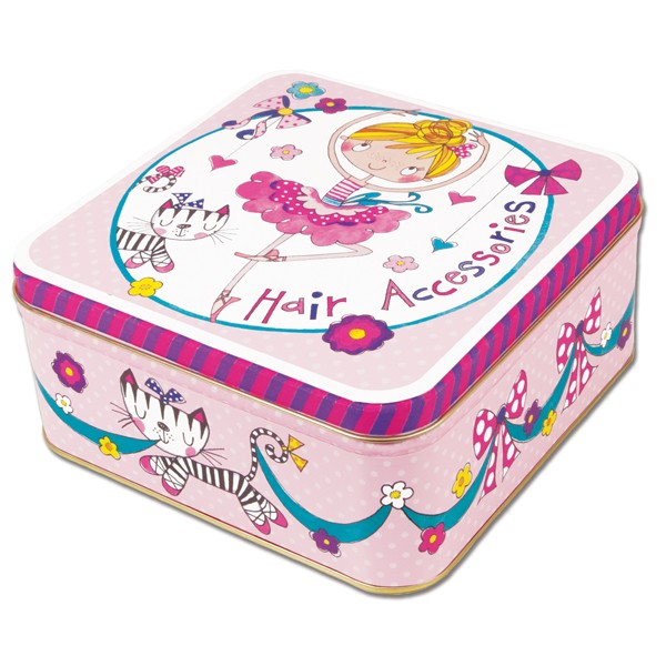 Rachel Ellen Hair Accessories Tin