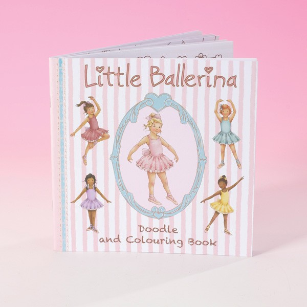 Little Ballerina Colouring Book