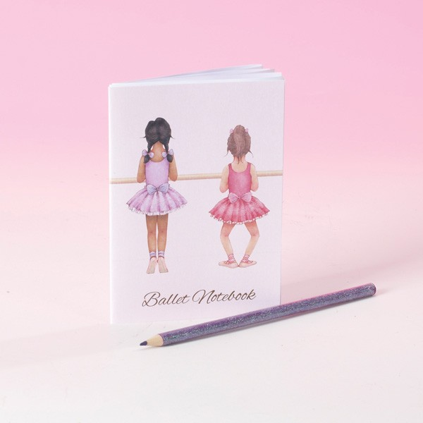 Little Ballerina Mini Notebook (Barre)