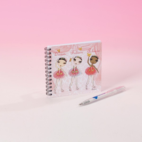 Ballet Papier Dream Believe Achieve Notebook