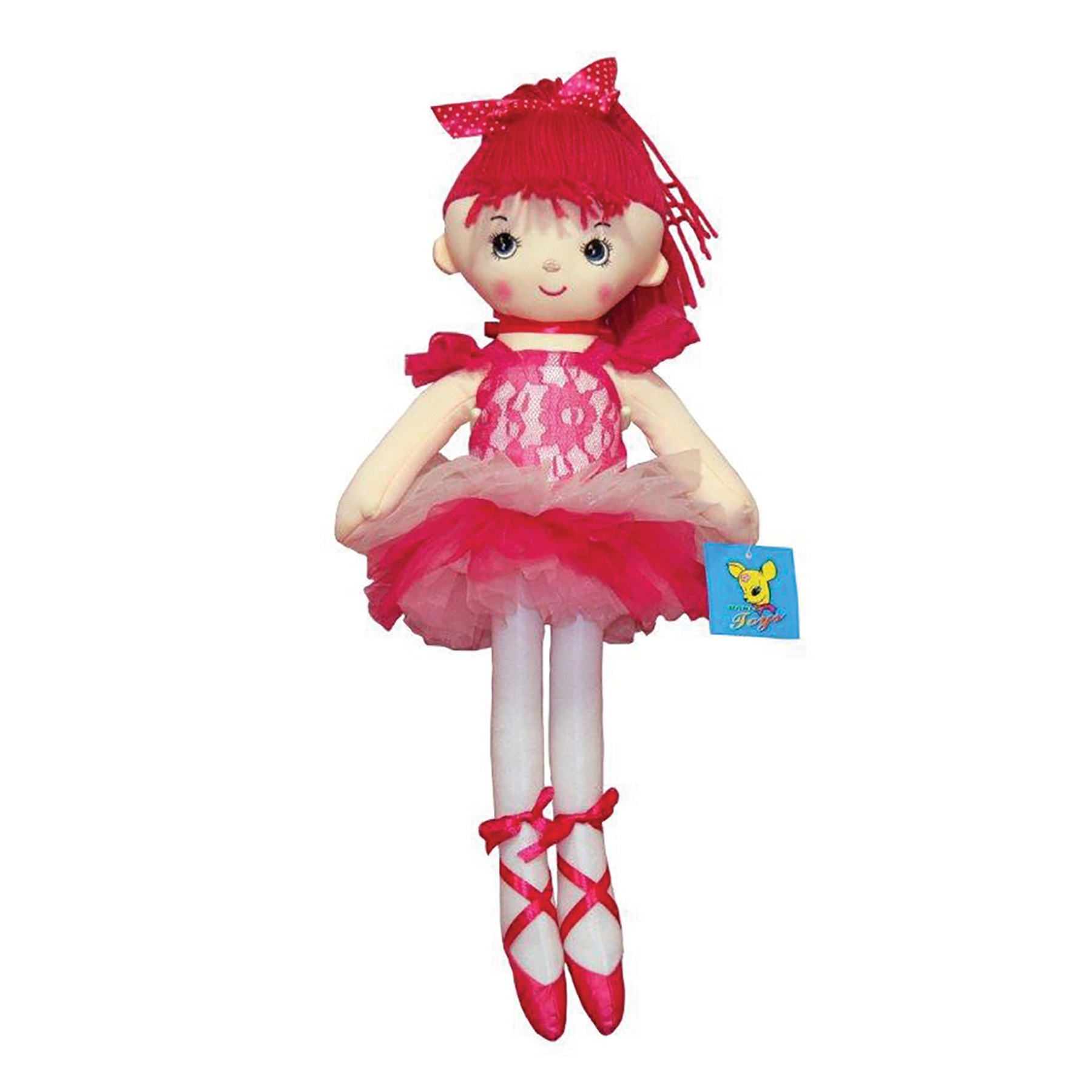Rag Doll Ballerina Pink