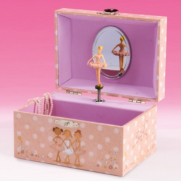Katz 3 Ballerina Jewellery Box