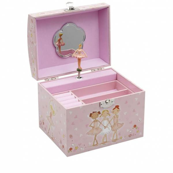 Katz Pearl Handle Jewellery Box