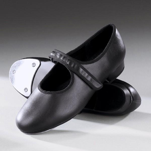 1st Position Velcro Taps Black (Black)