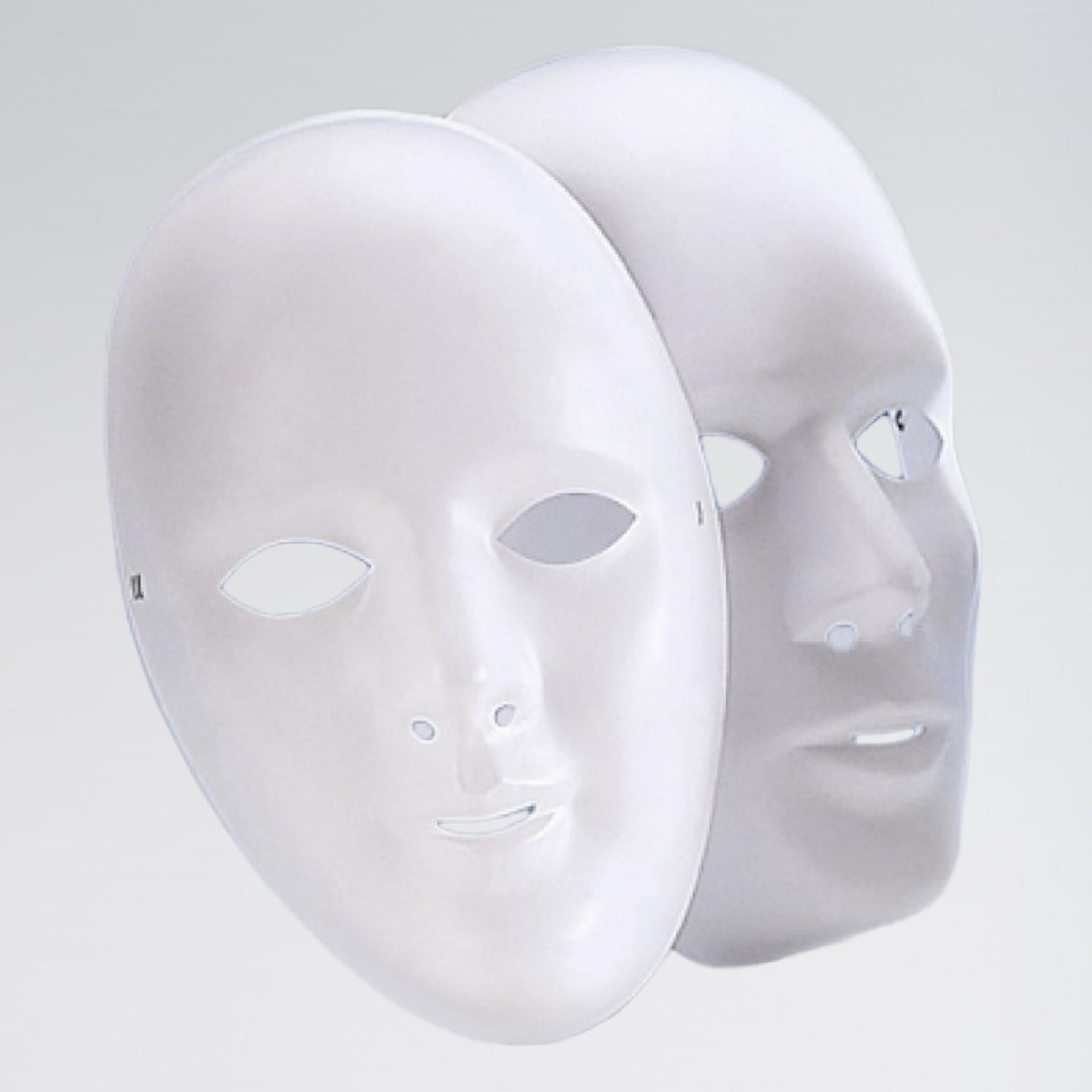 Face Mask - Female (White)