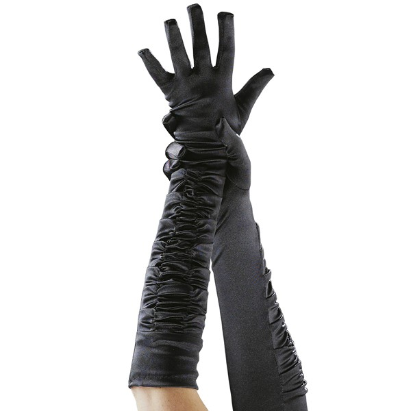 Black Theatrical Gloves Adult