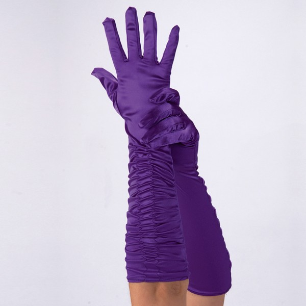 Purple Theatrical Gloves Adult