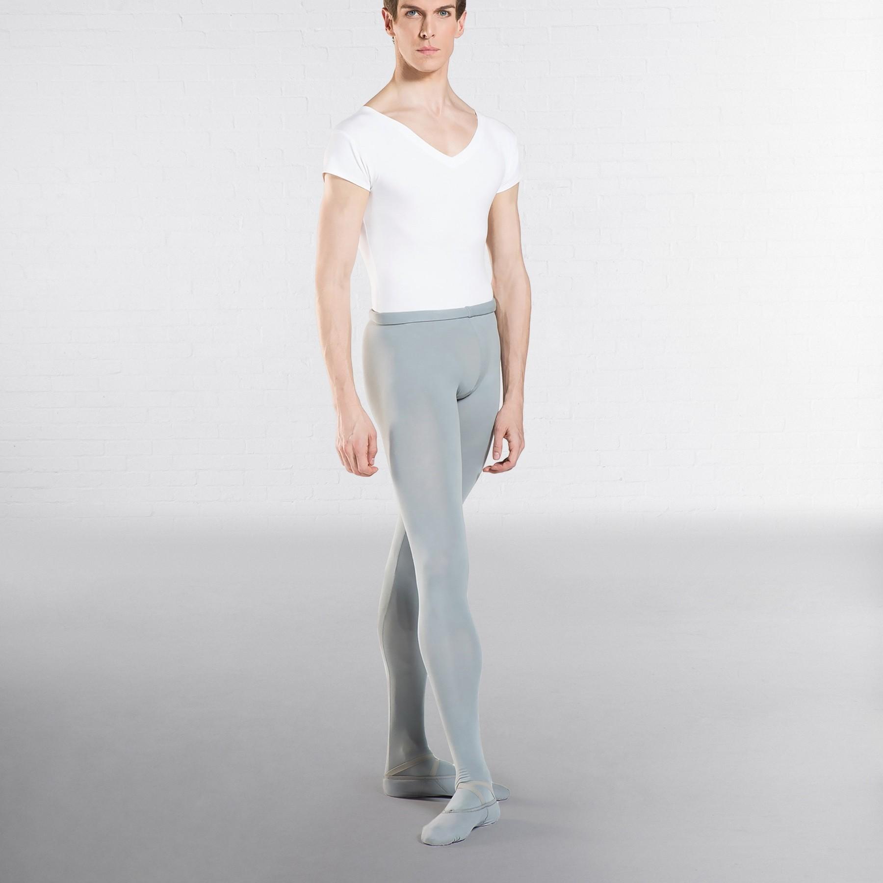 Wear Moi Solo Strumpfhosen mit Fuß für Männer (Grey)