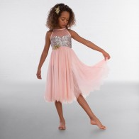 1st Position High Neck Multi Sequin Lyrical Dress