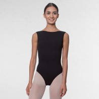 Lulli High Neck Cotton Dance Leotard Sabina