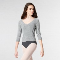 Lulli Knitted Long Sleeve Warm Up Sweater