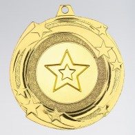 Star Cyclone Medal 50mm