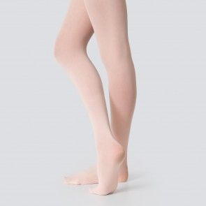 Silky Economy Collant Danza Classica con Piede - Rosa