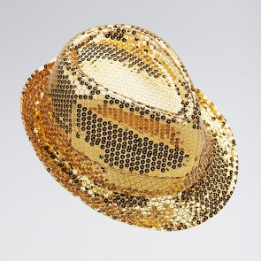 Sequin Trilby Hat