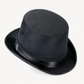 Sombrero de copa de velvetón