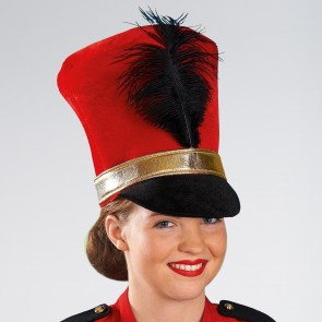 Cappello Majiorette/Soldato Rosso