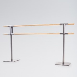 Dinamica Pina Freestanding Double Ballet Barre