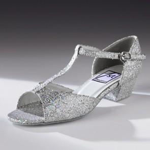 "1st Position Hologram Ballroom Shoe - 1"" Heel"