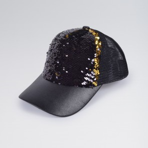 Cappello da Baseball con Lustrini