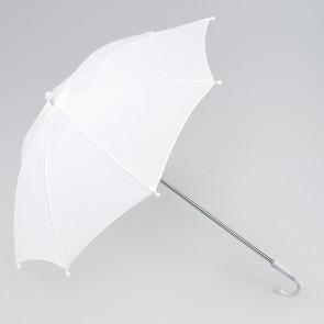 Long Handle Parasol (White)