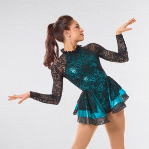 Curtain Call Metallic Bond Glitz Costume