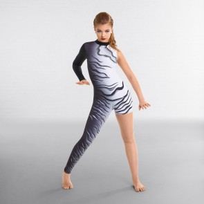 Curtain Call Fracture Digital Print Catsuit