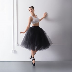 1st Position Prestige Romantic Tutu Skirt on Pants